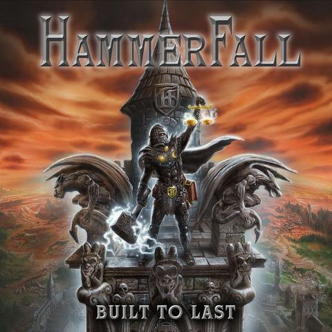 Built To Last von Hammerfall - CD jetzt im Bravado Shop