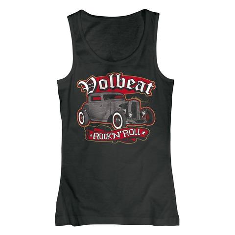 √Rock n Roll von Volbeat - Girlie tank top jetzt im Volbeat Shop