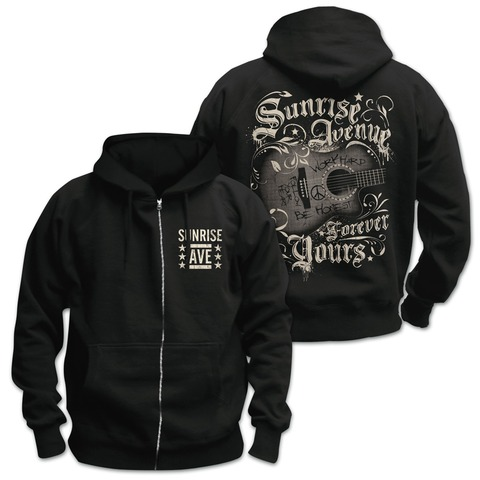 √Forever Yours von Sunrise Avenue - Hooded jacket jetzt im Sunrise Avenue Shop