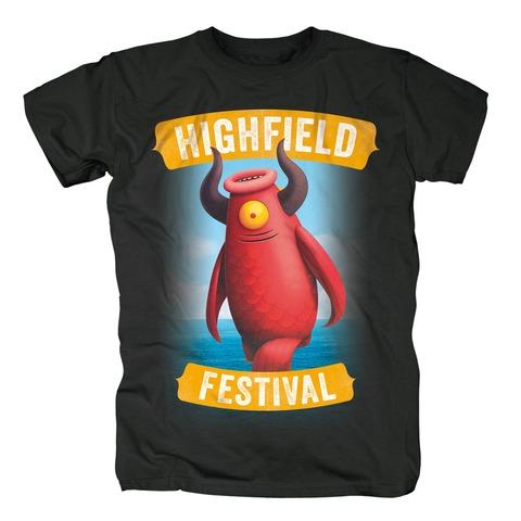 Mascot von Highfield Festival - T-Shirt jetzt im My Festival Shop Shop