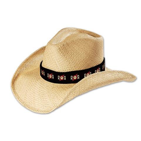 Logo von Rock am Ring Festival - Cowboy Hut mit Banderole jetzt im My Festival Shop Shop