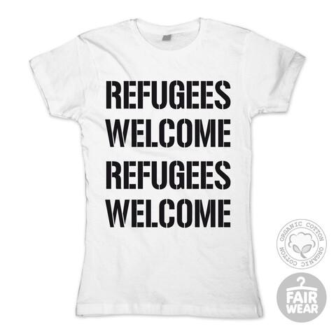 Refugees Welcome von Deichkind - Girlie Shirt jetzt im Deichkind Shop