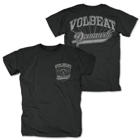√Volbeat Denmark Pocket Logo von Volbeat - 100% cotton jetzt im Volbeat Shop