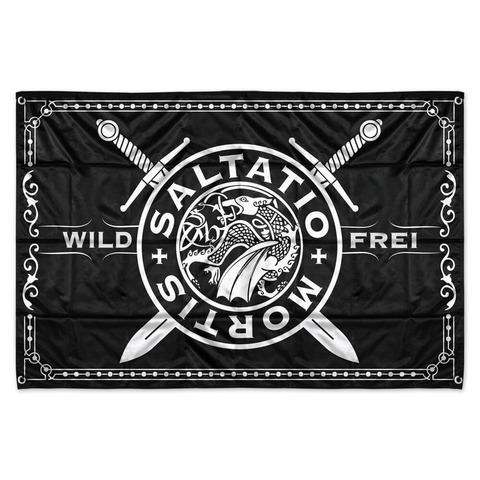 Wild & Frei von Saltatio Mortis - Flagge jetzt im Saltatio Mortis Shop