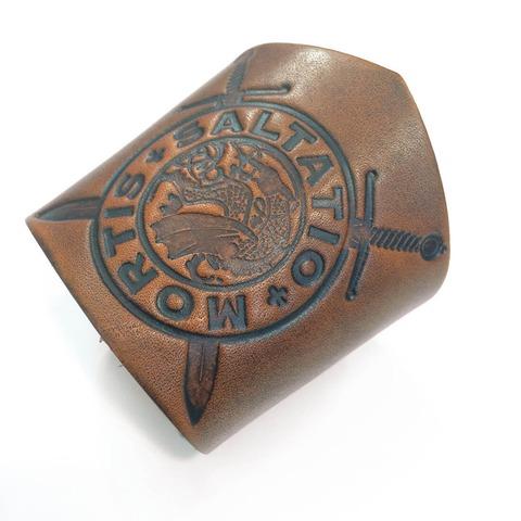 Drachen Logo von Saltatio Mortis - Lederarmband jetzt im Saltatio Mortis Shop