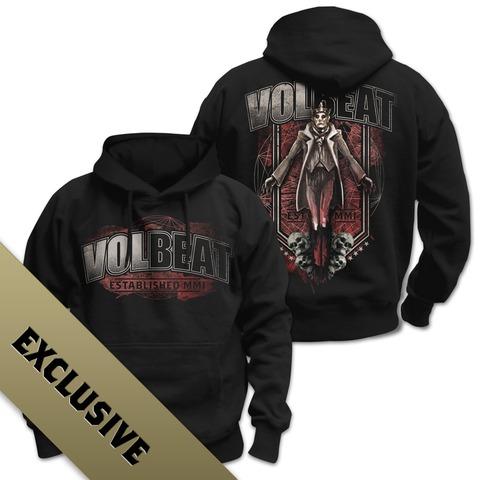 √King & Skulls von Volbeat - Hood sweater jetzt im Volbeat Shop