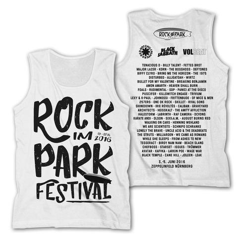 Big Letters von Rock im Park Festival - Men's Tank Top jetzt im My Festival Shop Shop