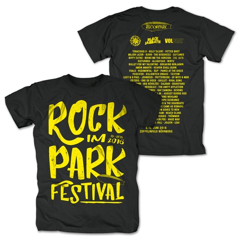 Big Letters von Rock im Park Festival - T-Shirt jetzt im My Festival Shop Shop