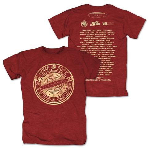 Circle Of Rock von Rock am Ring Festival - T-Shirt jetzt im My Festival Shop Shop