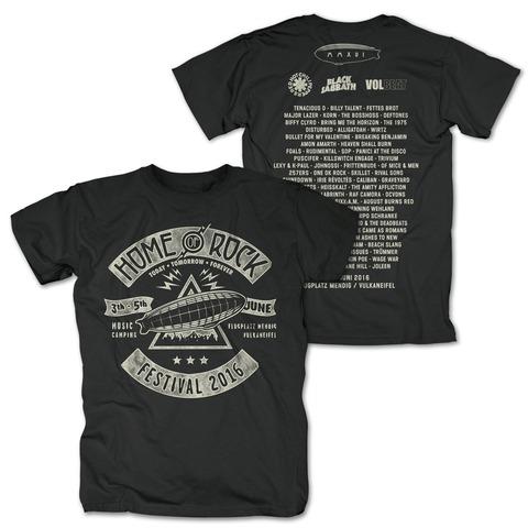 Triangle Rock von Rock am Ring Festival - T-Shirt jetzt im My Festival Shop Shop