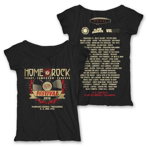 Rock Vinyl von Rock am Ring Festival - Girlie Shirt jetzt im My Festival Shop Shop