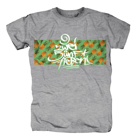 Ananas Logo von 257ers - T-Shirt jetzt im Selfmade Records Shop