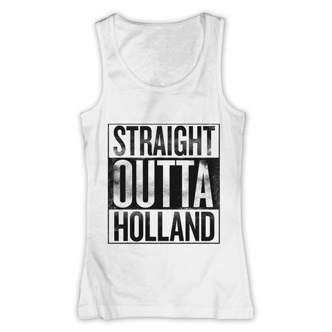 Straight Outta Holland von 257ers - Girlie Top jetzt im Selfmade Records Shop