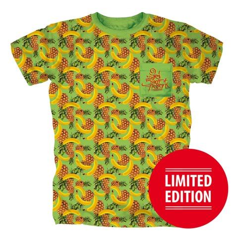 Ananasbanana Allover von 257ers - T-Shirt jetzt im Selfmade Records Shop