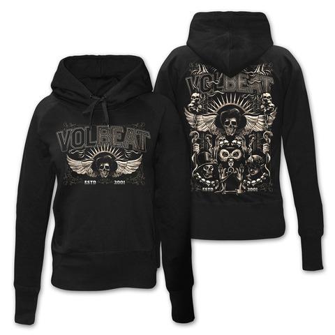 √Character Collage von Volbeat - Girlie hooded sweater jetzt im Volbeat Shop