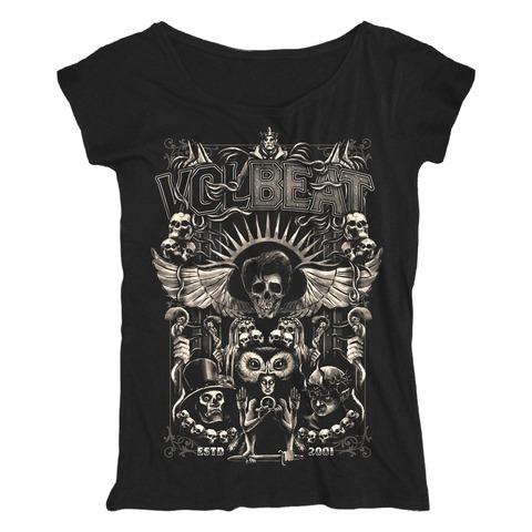 √Character Collage von Volbeat - 100% cotton jetzt im Volbeat Shop