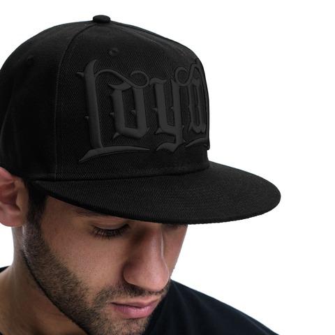 Black on Black von Kontra K - Cap jetzt im Loyal Shop