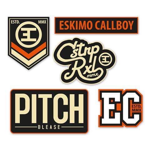 Logos von Eskimo Callboy - Patch - Set jetzt im Eskimo Callboy Shop