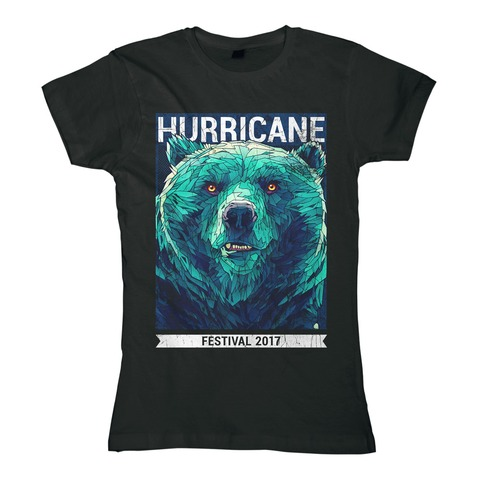 Early Bear von Hurricane Festival - Girlie Shirt jetzt im My Festival Shop Shop