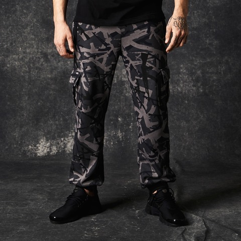 AK Camo Cargo Sweatpants von Pusher Apparel - Cargo Sweatpants jetzt im Pusher Apparel Shop