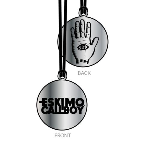 Eye and Hand Logo von Eskimo Callboy - Kette jetzt im Eskimo Callboy Shop