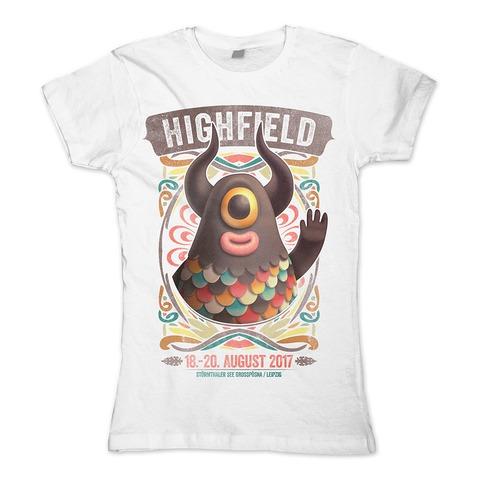 20 Jahre High von Highfield Festival - Girlie Shirt jetzt im My Festival Shop Shop