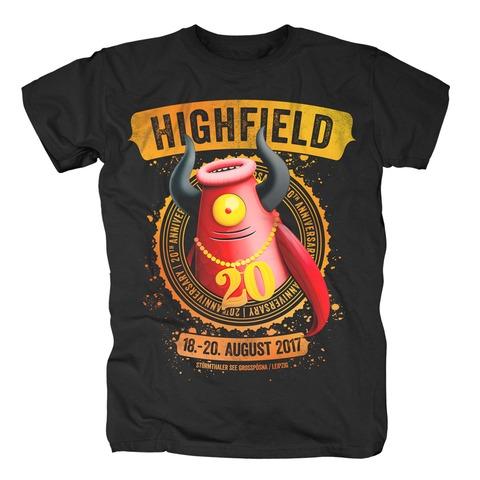 20 Jahre High von Highfield Festival - T-Shirt jetzt im My Festival Shop Shop