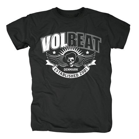 √Skullwing Ribbon von Volbeat - T-shirt jetzt im Volbeat Shop