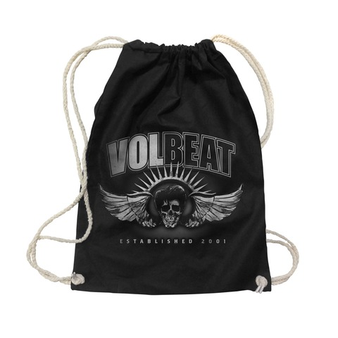 √Dark Skullwing Two Tone von Volbeat - Gym Bag jetzt im Volbeat Shop