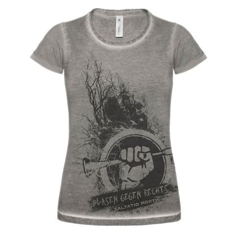 Blasen gegen Rechts Dusk von Saltatio Mortis - Girlie Shirt jetzt im Saltatio Mortis Shop