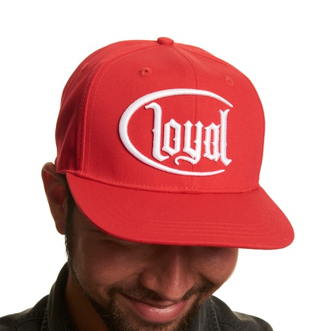 Loyal Circle White von Kontra K - Snap Back Cap jetzt im Loyal Shop