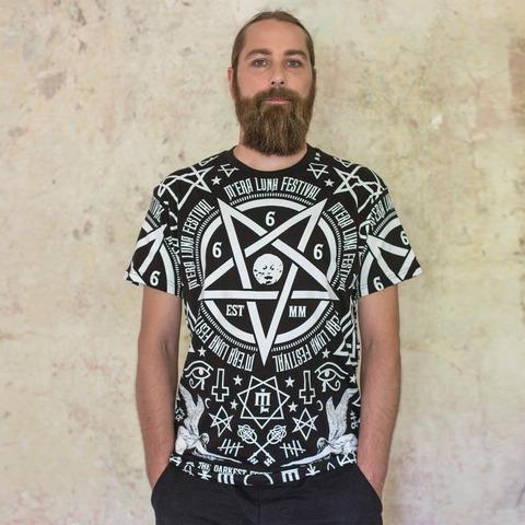 Occult Allover von Mera Luna Festival - T-Shirt jetzt im Bravado Shop