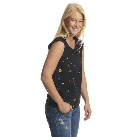 Icons Allover von ParookaVille Festival - Girlie Shirt jetzt im My Festival Shop Shop