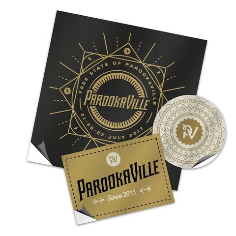 Logo von ParookaVille Festival - Auto-Aufkleber Set jetzt im ParookaVille Shop