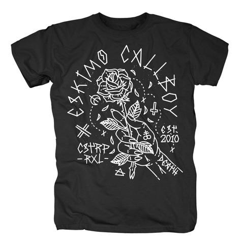 Rose Hand von Eskimo Callboy - T-Shirt jetzt im Eskimo Callboy Shop