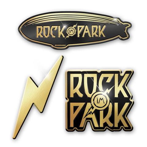 Various Logos von Rock im Park Festival - 3er Pin Set jetzt im My Festival Shop Shop