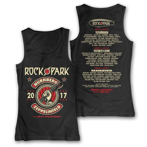 Guitar Hand von Rock im Park Festival - Girlie Tank Top jetzt im My Festival Shop Shop