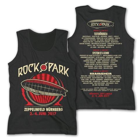 Big Zeppelin von Rock im Park Festival - Men's Tank Top jetzt im My Festival Shop Shop