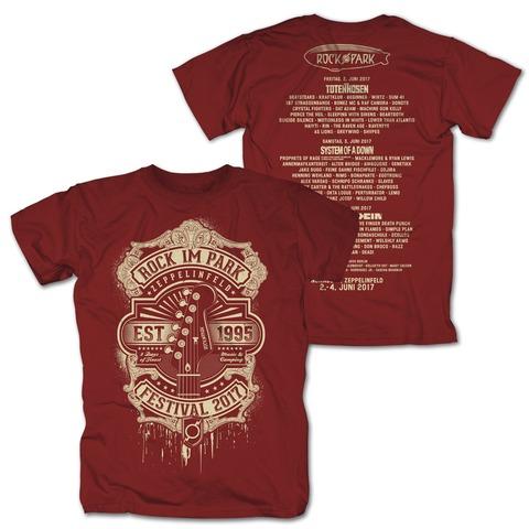 Golden Guitar von Rock im Park Festival - T-Shirt jetzt im My Festival Shop Shop