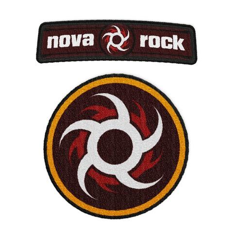 Logos von Nova Rock Festival - 2er Patch Set jetzt im My Festival Shop Shop