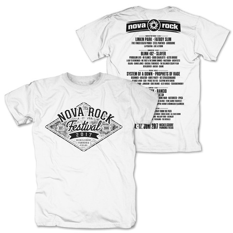 Diamond Sign von Nova Rock Festival - T-Shirt jetzt im My Festival Shop Shop