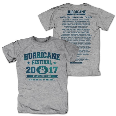 College Paw von Hurricane Festival - T-Shirt jetzt im My Festival Shop Shop