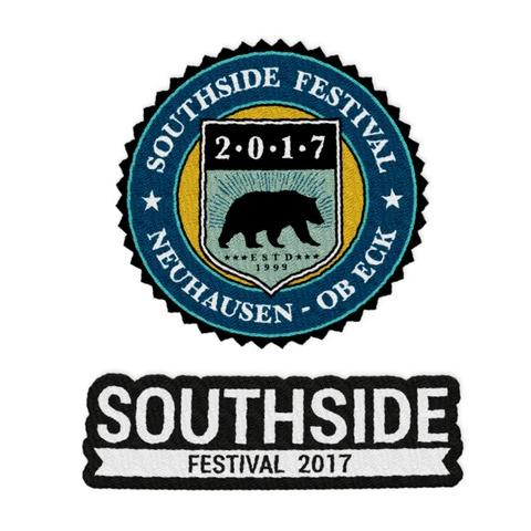Logo von Southside Festival - Patch - Set (2-er) jetzt im My Festival Shop Shop