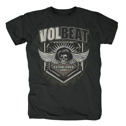 √Dark Skullwing Shield von Volbeat - T-shirt jetzt im Volbeat Shop