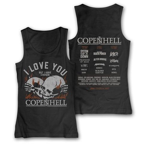 I Love You von Copenhell Festival - Girlie Top jetzt im My Festival Shop Shop