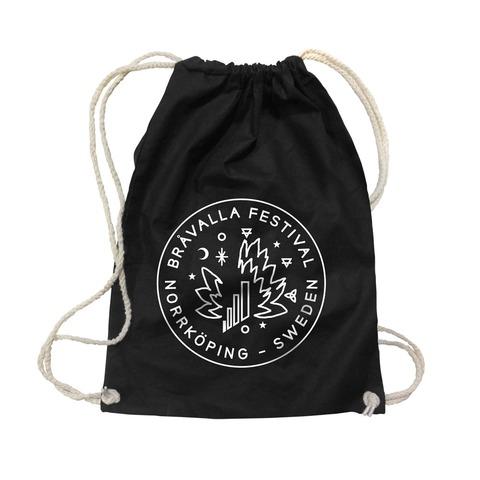 Circle Logo von Bravalla - Gym Bag jetzt im My Festival Shop Shop