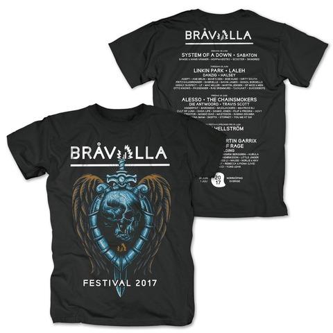 Sword Skull von Bravalla - T-Shirt jetzt im My Festival Shop Shop