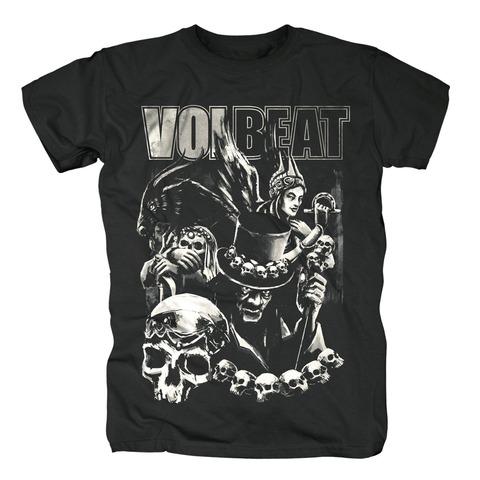 Black Collage von Volbeat - T-Shirt jetzt im Bravado Shop