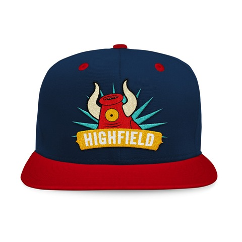 Mascot von Highfield Festival - Cap jetzt im Bravado Shop