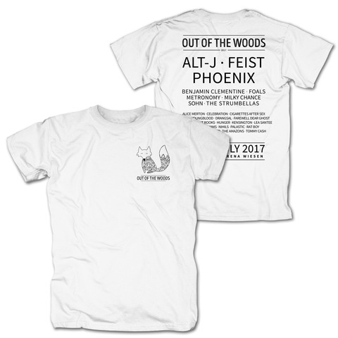 Pocket Fox von Out Of The Woods - T-Shirt jetzt im My Festival Shop Shop